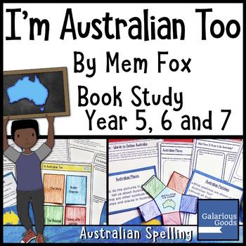 I'm Australian Too - Book Study