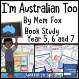 I'm Australian Too by Mem Fox - Book Study