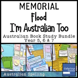I'm Australian Too, Flood and Memorial - Australia Picture Book Study Bundle