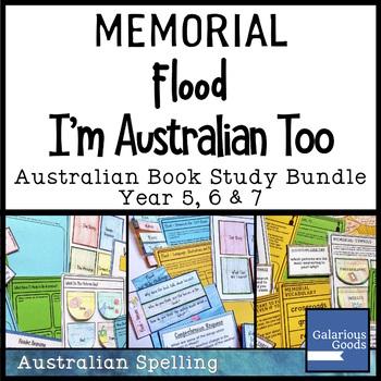 I'm Australian Too, Flood and Memorial - Australia Picture Book Study Bundle