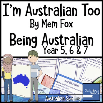 I'm Australian Too by Mem Fox - Being Australian
