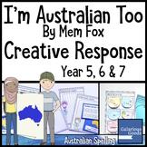 I'm Australian Too by Mem Fox - Creative Response