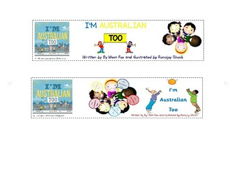 I'm Australian Too by Mem Fox & Ronojoy Ghosh Bookmarks CBCA Find Your Treasure