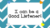 I'm Can Be a Good Listener!