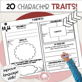 I'm Done Early:  Character Traits Middle and High School