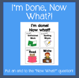 I'm Done! Now what? Poster