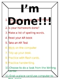 I'm Done! Poster