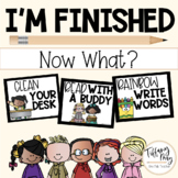 I'm Finished Now What? Editable