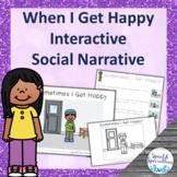 I'm Happy Social Narrative Interactive Book and Emergent R