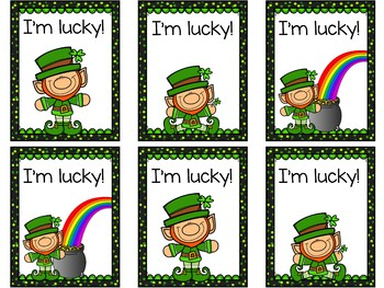 I'm Lucky! A Sight Word Game