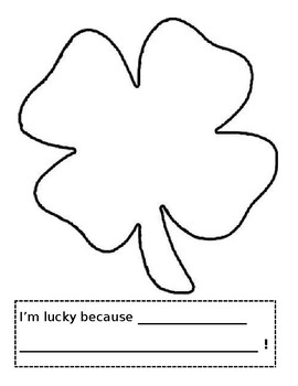I'm Lucky Because...