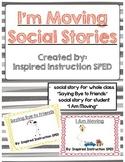 I'm Moving Social Stories