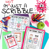I'm Not Just A Scribble : Interactive Read-Aloud Activities Lesson Plans 1-2