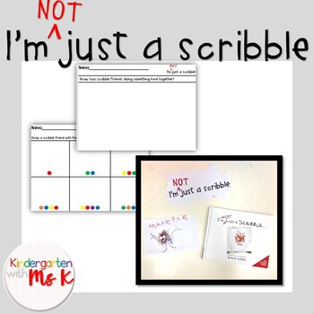 I'm Not Just a Scribble! : Kindness, Counting, Coloring Pack