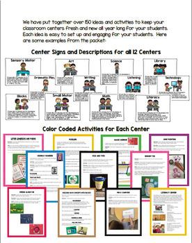 I'm Only 4! Ultimate Center Packet for Pre-Kindergarten