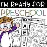 I'm Ready for Preschool Activity Book
