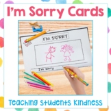 I'm Sorry Cards, Teaching Students Kindness