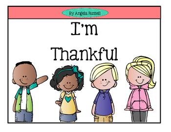 Thanksgiving Freebie - I'm Thankful