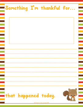I'm Thankful: A Gratitude Journal for Kids