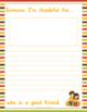 I'm Thankful: A Gratitude Journal for Kids
