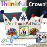 I'm Thankful For... Crown (Thanksgiving Craft)