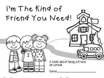 Friends At School Book