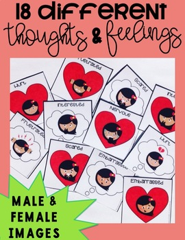 Thought & Feeling Cards for Social Skills