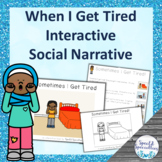 I'm Tired Social Narrative Interactive Book and Emergent R