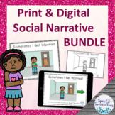 I'm Worried Interactive Social Narrative Print & BOOM Card