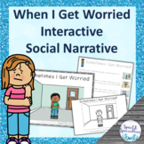 I'm Worried Social Narrative Interactive Book and Emergent