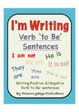 "I""m Writing Verb 'to Be' Sentences"