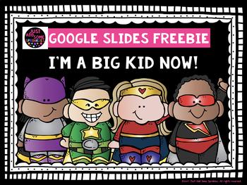 I'm a Big Kid Now Freebie