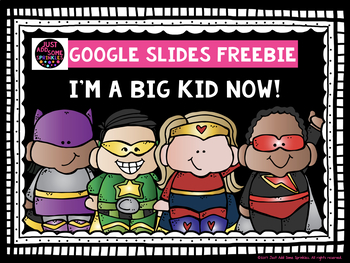I'm a Big Kid Now Freebie