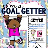 I'm a Goal Getter! Accountability and Goal Setting Display for Kids