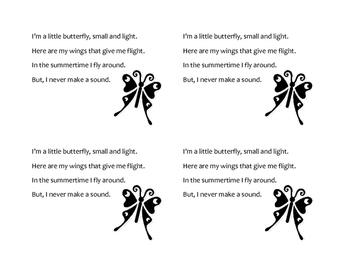 I'm a Little Butterfly