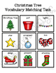 I'm a Little Christmas Tree Vocabulary Folder Game for Students with Autism