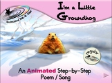 I'm a Little Groundhog - Animated Step-by-Step Song - Regular