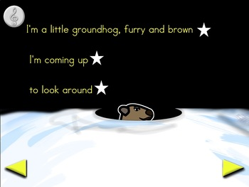 I'm a Little Groundhog - Animated Step-by-Step Song - VI