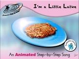 I'm a Little Latke - Animated Step-by-Step Song SymbolStix