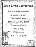 I'm a Little Leprechaun - Poem for Kids ~ St. Patrick's Day