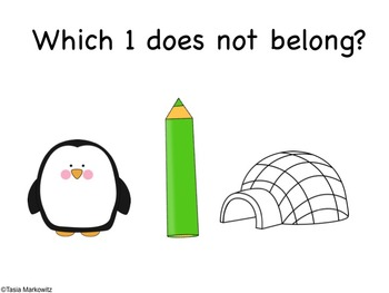 I'm a Little Penguin Literacy and Math Unit