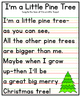 I'm a Little Pine Tree Anchor Chart {Christmas Printable}