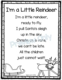 I'm a Little Reindeer - Christmas Poem for Kids