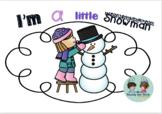 I'm a Little Snowman K (Math and Literacy)