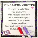 I'm a Little Valentine - Valentine's Day Poem for Kids