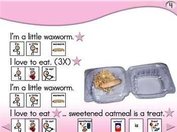 I'm a Little Waxworm - Animated Step-by-Step Song - SymbolStix