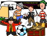 I'm a Pirate Clip Art Pack