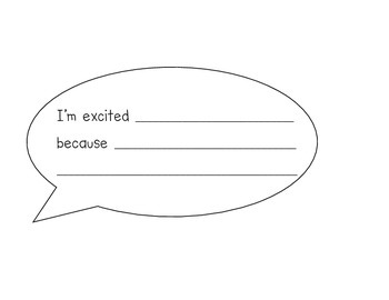 I'm a _______ Grader! Back to School Activity