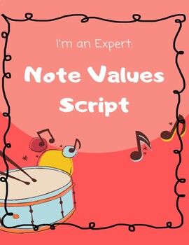 I'm an Expert: Note Values Script