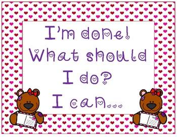 I'm done what should I do? ~ Valentine Teddy Bear